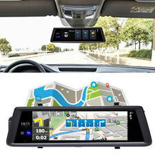 "Auto Dvr 10"" Touch Android 5.0 GPS FHD 1080P Video Recorder Mirror WIFI 3G NEW"