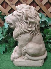 Med. Classical Lion King Sentry Guard Latex Production Fiberglass Mold Concrete