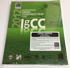 2012 International Green Construction Code IgCC ICC