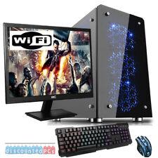 A10 9700 QUADCORE Desktop Gaming PC Computer GTX1050ti Bundle 3.5GHz 16GB lf10