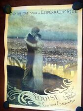"Original Vintage French Opera Poster, ""Louise"", 1900-1910 On Linen"