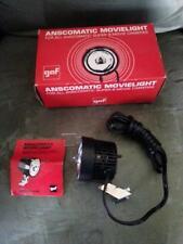 Vintage GAF Anscomatic Movielight For Super 8 Movie Cameras With Original Box