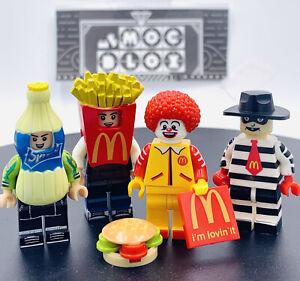 McDonald's Set - Custom Legos