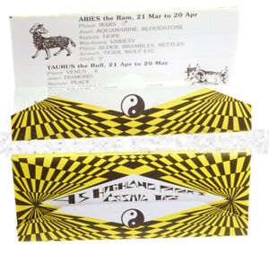 Highland Cosmic King Size Rolling Paper Skins With Roach Tips FREE POST