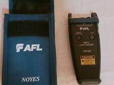 Noyes Vfi 2 Light Source 25mm Fiber Optic Test Equipment Afl