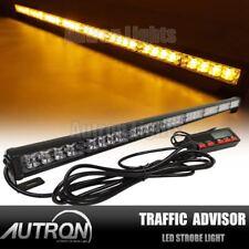 "35"" LED Vehicle Flash Light Bar Traffic Advisor Emergency Warn Strobe Amber US"