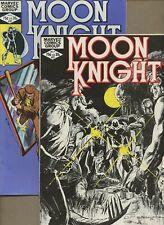 Moon Knight 21,22 * 3 Book Lot * Doug Moench! Sienkiewicz! Marvel