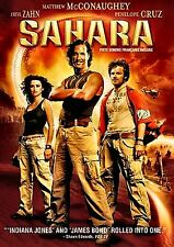 Sahara (NEW DVD!!) Penélope Cruz, Matthew McConaughey/English and French