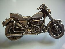 Harley Davidson Sportster Motorcycle Ironhead Engine Pin Factory HD Racing Badge