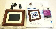 "Philips SPF3480T/G7 8"" LCD Panel 800x600 Digital Photo Frame"