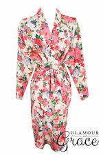 Kimono Machine Washable Floral Sleepwear for Women