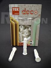 TOX Deco, 4AS-K - Allzweckdübel Universaldübel alle Baustoffe Schuppendübel weiß