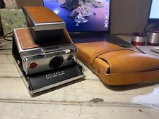 Polaroid SX-70 Film Camera with Leather Case