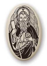 Medal St Jude Thaddeus Porcelain Medallion Pendant Cord Touchstone Catholic Box
