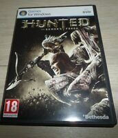 PC DVD ROM - Hunted - The Demon's Forge - with booklet manual