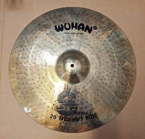 "WUHAN 20"" Medium-Heavy S Series Ride Cymbal - Hand Made In Wuhan 012-102-106"