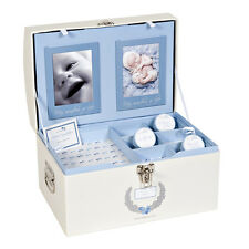 MYBABYLOG Baby Gift Memory Keepsake Box--Christening Gift for Boys