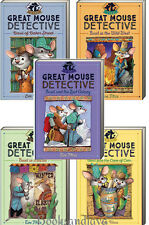 GREAT MOUSE DETECTIVE Basil of Baker St,Cats,Mexico,Wild West,Colony (pb) 5 Bks