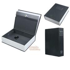 Deluxe Dictionary Home Safe Real Book Safe Key Combination Security Money Box