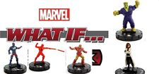 Heroclix Marvel What If? #020 ONI LEADER, 019 CAPN BRIT, 017 DAREDEVIL, 015, 013