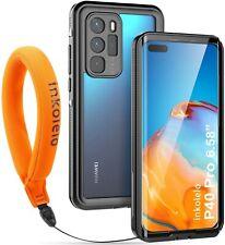 inkolelo Huawei P40 Pro Waterproof Case Cover Built-in Screen Full-Body