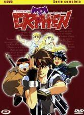 YAMATO VIDEO ORPHEN LO STREGONE BOX SERIE COMPLETA 4 DVD