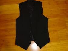 Steampunk Sherlock Holmes vest navy pinstripe  lined stripes 40 C S M