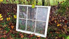 SHABBY SASH ANTIQUE WOOD WINDOW PICTURE FRAME PINTEREST WEDDING 6 PANE 36x27