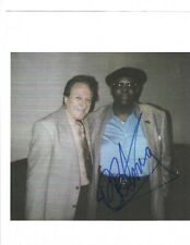 B.B. King Signed Candid 8 x 10 Photo / Autographed IN PERSON