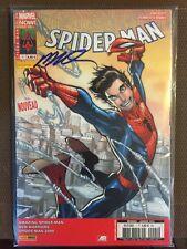 Marvel Now Spider Man 1 couv 2/2 signé par Humberto RAMOS