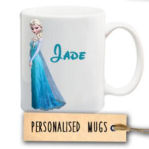 Personalised Disney Frozen Elsa  Ceramic Mug