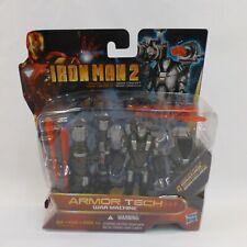 Iron Man 2 Armor Tech War Machine Action Figure Marvel Concept Series NIB
