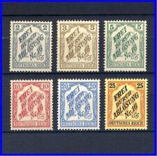 Deutsche Reich 1905_Dienstmarken für BADEN_Mi. Nr. 9 -14 **_postfrisch **_MNH