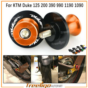 M10*1.5 Swingarm Spools Stand Screws For KTM Duke 125 200 390 990 1190 1090