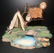 Friends of the Feather Enesco 1994 Spe270 Display and 1 Hanging Ornament 188255