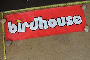 Birdhouse Skateboards Tony Hawk Red Yellow White 90s Skateboarding Poster BANNER