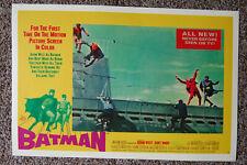 Batman Movie poster Lobby Card #8 Adam West Burt Ward