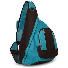 Sling Bag Blue Turquoise Single Strap Shoulder Backpack Messenger
