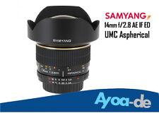 Objektiv Samyang 14mm f/2.8 AE IF ED UMC ASP Nikon D7100 D5200 D5000 D5300 D5100