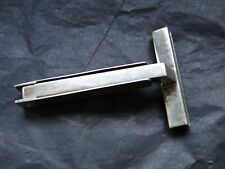 TRAVEL RAZOR, STERLING SILVER, FOLDING, ITALY 1940, MARKED, HINGED