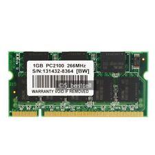 NEW 1GB DDR-266 PC2100 200pin Laptop Memory RAM Upgrade 1GB DDR 266MHz  SODIMM