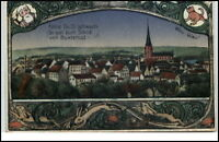 Buxtehude Niedersachsen alte color Motivkarte Postkarte 1929 Bedarfs-AK gelaufen