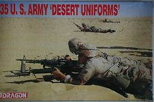 "MINIATURAS MILITARES DRAGON DS1 U.S. ARMY "" DESERT UNIFORMS"""