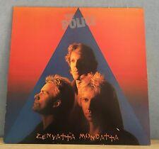 THE POLICE Zenyatta Mondatta 1980 UK vinyl  LP + INNER EXCELLENT CONDITION    E
