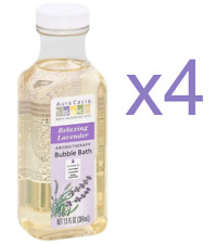 Aura Cacia Aromatherapy Bubble Bath, Relaxing Lavender, 13 fl oz (Lot of 4)
