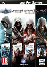 PACK 4 JEUX ASSASSIN'S CREED PC NEUF