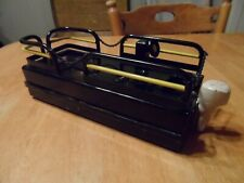 vintage model pontoon boat made of steel - excellent condition