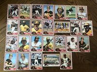 1981 SAN DIEGO PADRES Topps COMPLETE MLB Team SET 26 Cards SMITH WINFIELD ROLLIE