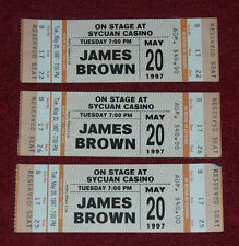 JAMES BROWN Sycuan Casino SD CA Ticket Stub May 20 1997 RARE KING James Brown