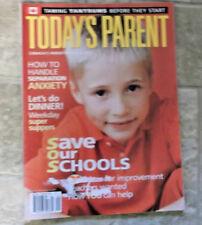 TODAY'S PARENT - CANADA'S PARENTING MAGAZINE - SEPTEMBER 2001 VOL 18, No 8